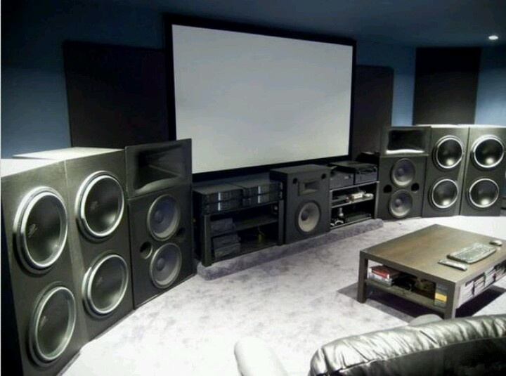 Sala de cine...: Home Theater, Man Cave, Dreams, Media Rooms, Speakers, Watches Movies, Photo, Men Caves 39, My Style