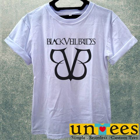 Low Price Women's Adult T-Shirt - Black Veil Brides Logo design – untees