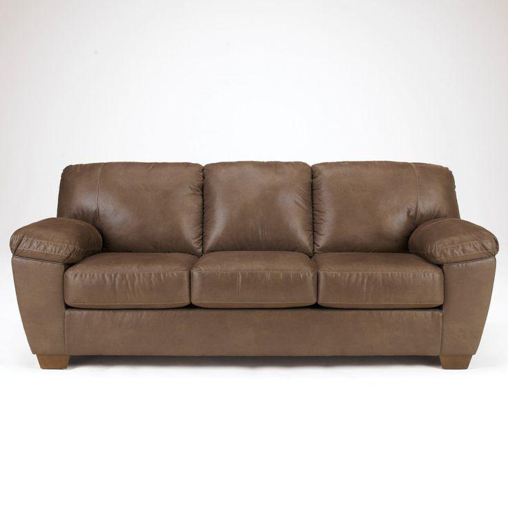 Ashley Furniture Amazon Sofa in Walnut