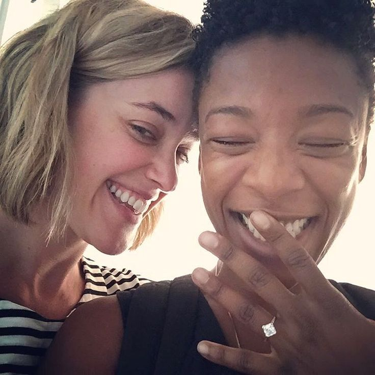 See Samira Wiley's Gorgeous Engagement Ring from Girlfriend Lauren Morelli!