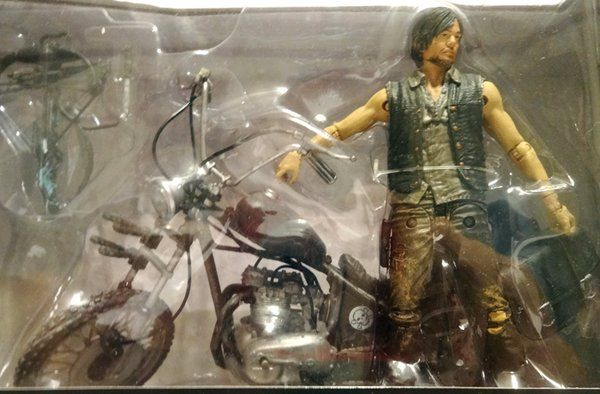 4th of July SLASHER SALE on select items. The Walking Dead Series 5 Daryl Dixon with Chopper