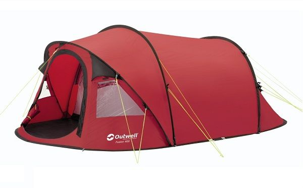 $169 OUTWELL FUSION 400 SMART TUNNEL POP UP TENT 4 BERTH CAMPING/CAMP VARIOUS COLOURS | eBay