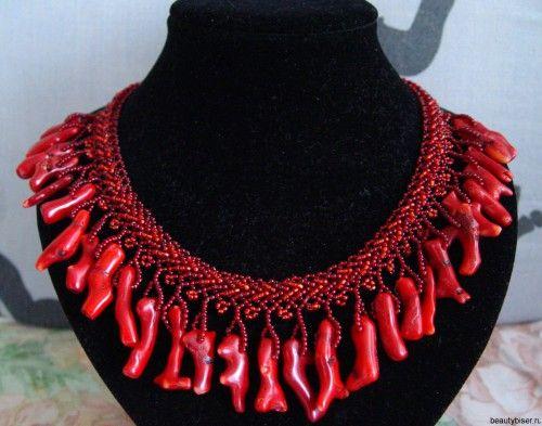 коралловые украшения - 04