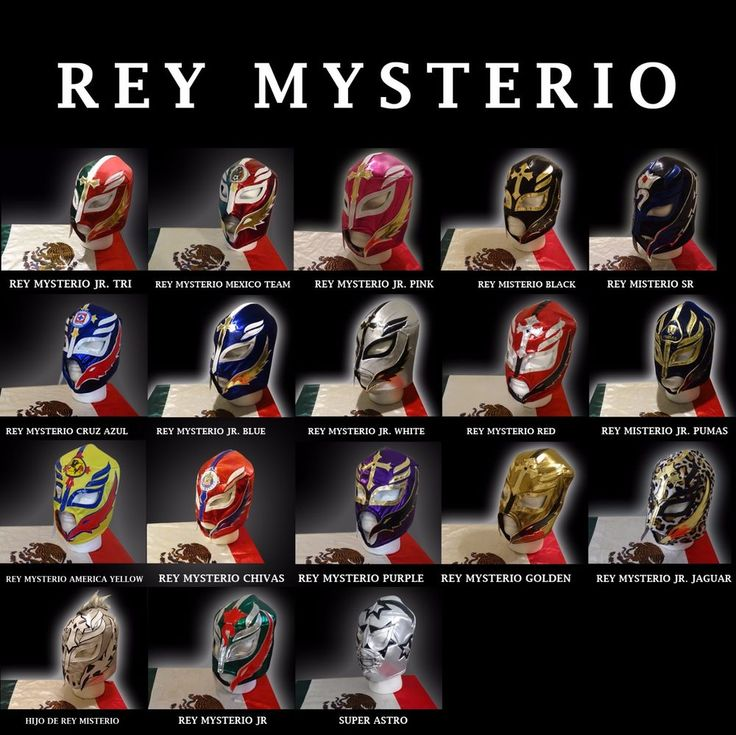 Mexican Wrestling Mask Rey Mysterio Rey Misterio Super Astro