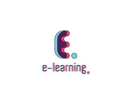 """Check out new work on my @Behance portfolio: """"3d logo- e learning""""…"""