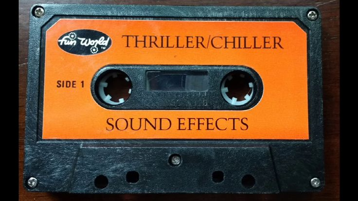 Thriller/Chiller Halloween Sound Effects Cassette Rip Full Album