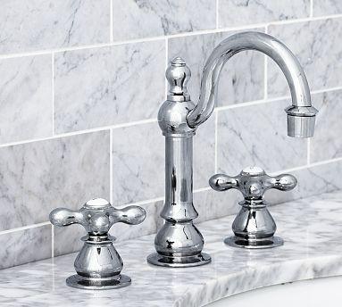 Gooseneck Faucet #potterybarn