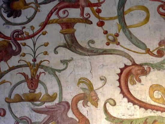 Grotesques, Palazzo Farnese - Caprarola, Italy