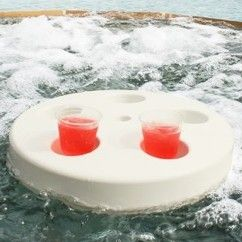 Pool Buoy Floating Drink Holder Tray