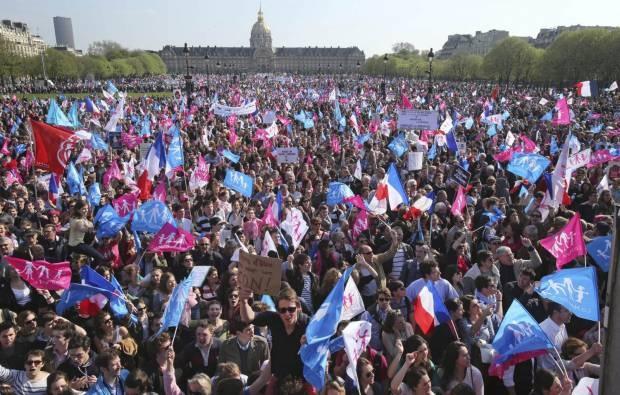 Gelombang Anti-pernikahan Sejenis di Perancis