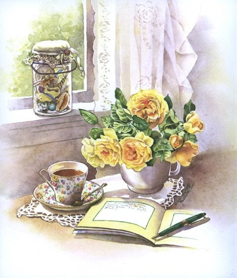 Good Morning , Wishing ALL ……((….…♥) A Beautiful Day