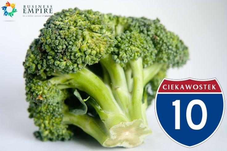10 ciekawostek o brokułach