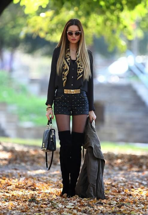 #Parka & #Overknee #Boots #Womens-Fashion