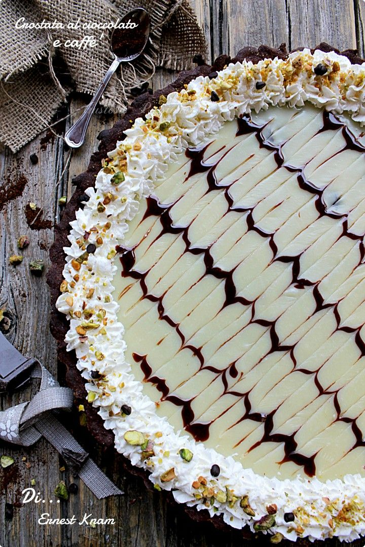 CROSTATA AL CIOCCOLATO E CAFFÈ DI ERNEST KNAM http://blog.cookaround.com/gustosapassione/2016/01/crostata-al-cioccolato-e-caffe-di-ernest-knam.html