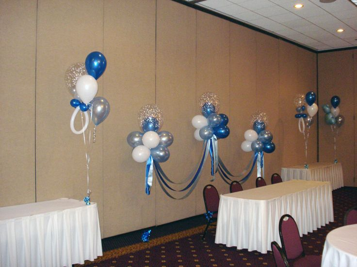 Pin by julissa arte floral y decoraci n de eventos on for Baby shower decoration ideas with balloons