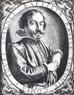 "Giambattista Basile is chiefly remembered for writing the collection of Neapolitan fairy tales titled ""Lo cunto de li cunti overo lo trattenemiento de peccerille"" (Neapolitan for ""The Tale of Tales, or Entertainment for Little Ones""), also known as Il Pentamerone published posthumously in two volumes by his sister Adriana in Naples, Italy in 1634 and 1636 under the pseudonym Gian Alesio Abbatutis.  http://en.wikipedia.org/wiki/Pentamerone"