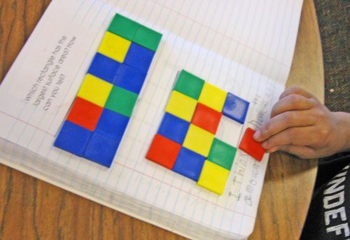 Great math journal ideas for measurement.Measuring-Surface-Area-4 Kindergarten common core standards lessons