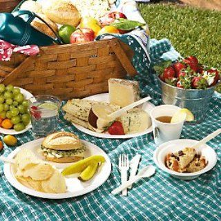 I'm not sure why they call this picnic food  but I scrolled through lots of the recipes and the variety is wonderful !!!  101 picnic recipes ready in 20 minutes or less