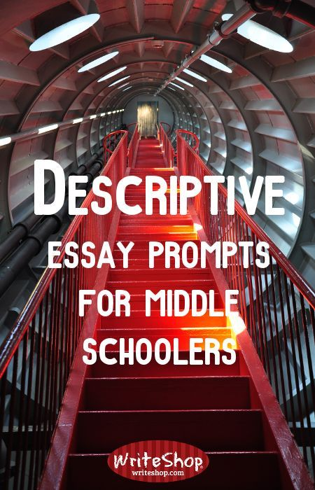 essay prompts for middle schoolers A great selection of challenging fun and creative writing prompts middle school students will enjoy  prompt 25: write an essay explaining why you do or why you don.