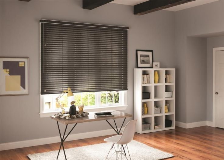 Fabric Blinds for Large Windows creates a nice private touch and matches your decor. #home #blinds