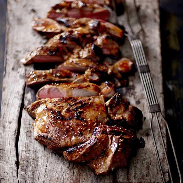 Barbecued Butterflied Leg of Lamb with Asian Flavours  |  Recipe | Kikkoman