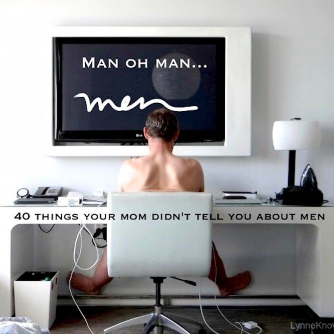 """40 Strange But True Facts About Men"" If it's attention that you want, don't get in a relationship with a man during playoff season. Read more here.."