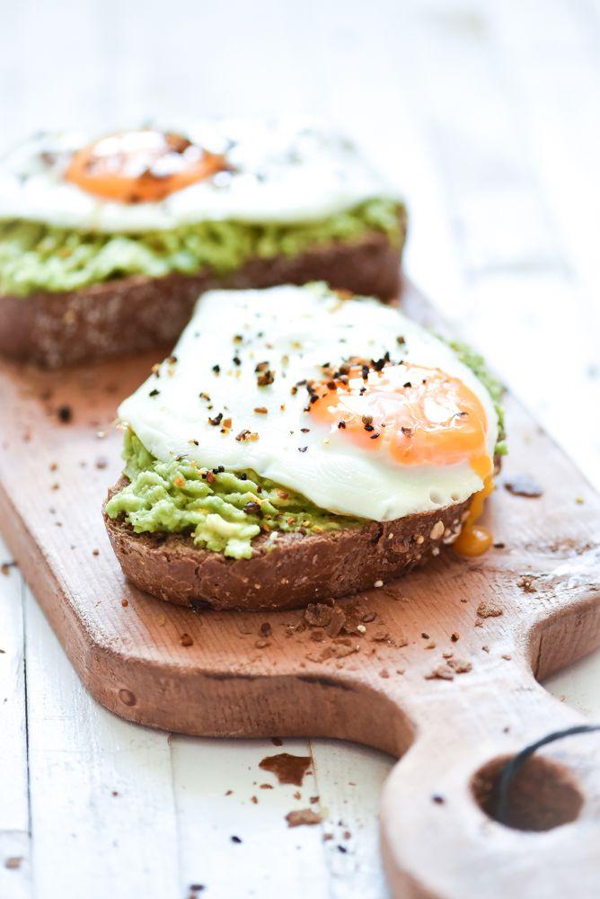 Ei avocado toast