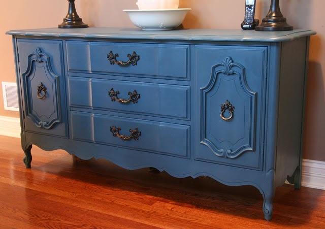 17 Best Images About Chalk Paint Aubusson Blue On