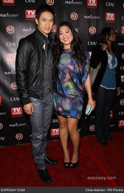 Happy Birthday to Glee's Jenna Ushkowitz (Tina) born on April 28th 1986 and Harry Shum Jr (Mike )born on April 28th 1982 share a birthday!  Harry Shum Jr will return to his role on Glee this week as Mike Chang who will be helping  New Directions in their choreography.  Mike is a phenomenal dancer!!  Happy Birthday Jenna and Harry!