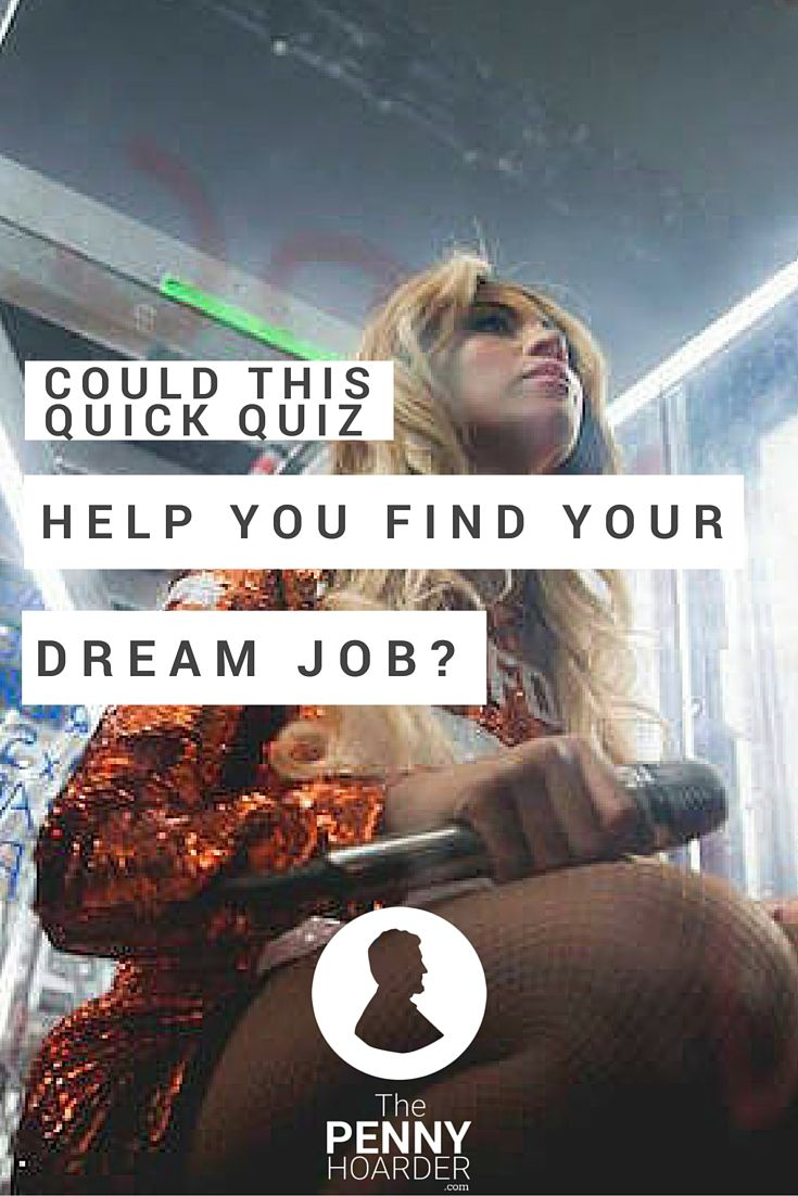 Could This Quick Quiz Help You Find Your Dream Job?  Career Test Free