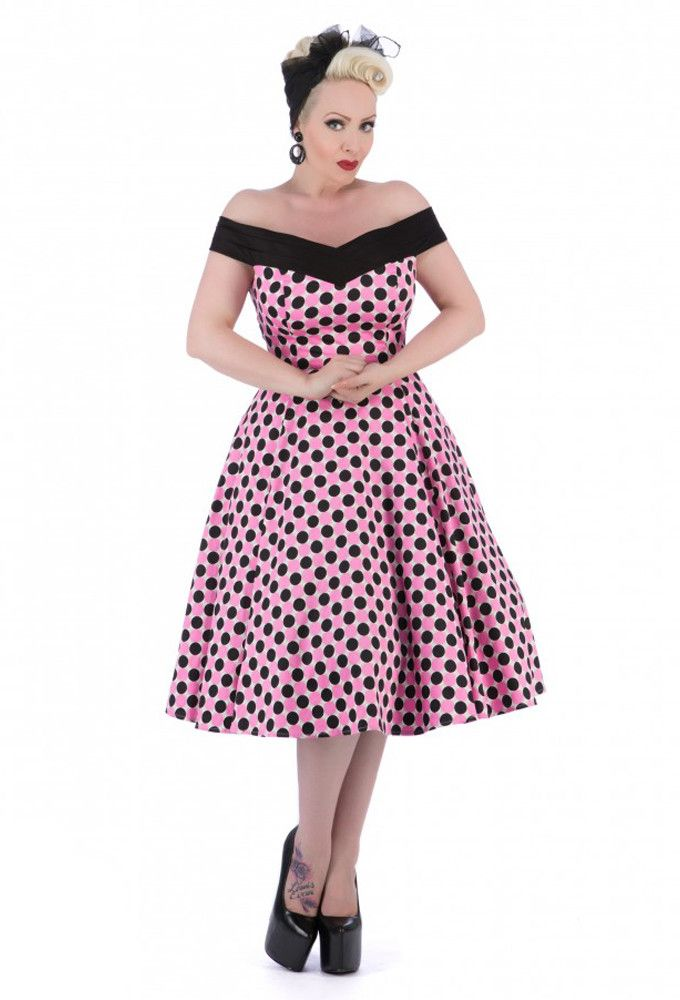 Hearts and Roses London - Hearts & Roses Bettie Dress