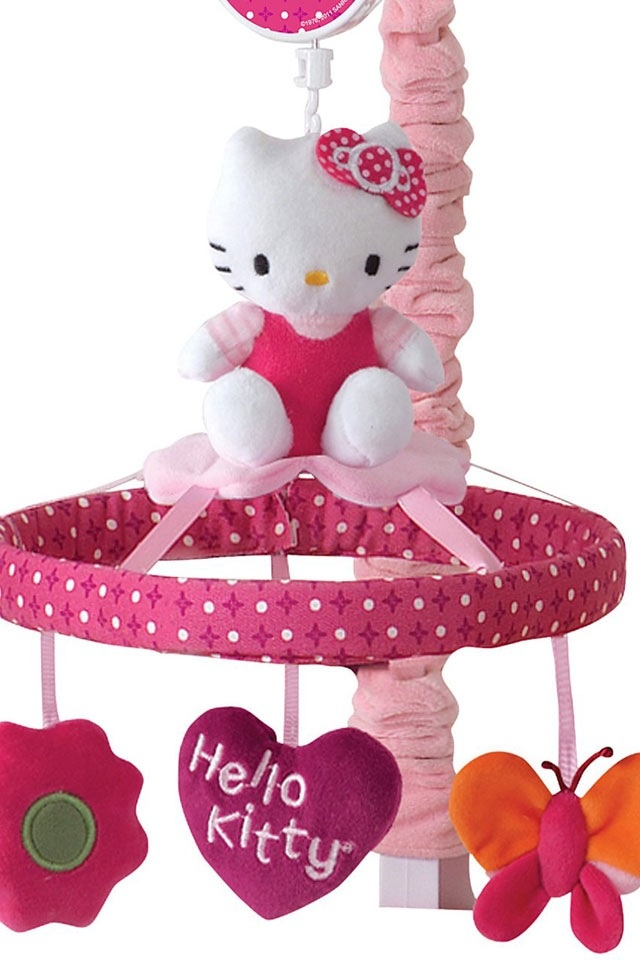 Hello Kitty baby mobile (to go in the nursery )
