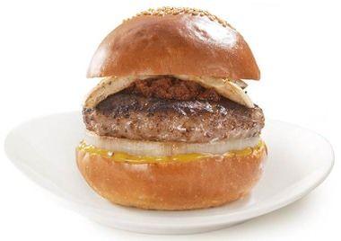 信州ジビエ鹿肉バーガー
