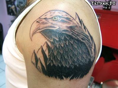 Fotos de Tatuagens: Aguia simbolo da america