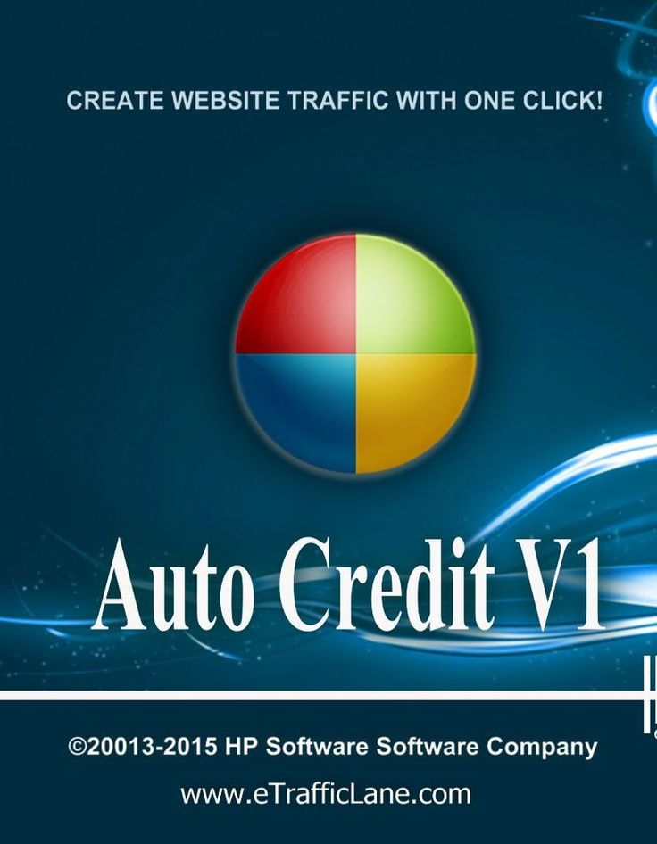 Auto Credit V1 Traffic Generator - Windows Real One Click Traffic Software #HPSoftwareCompany