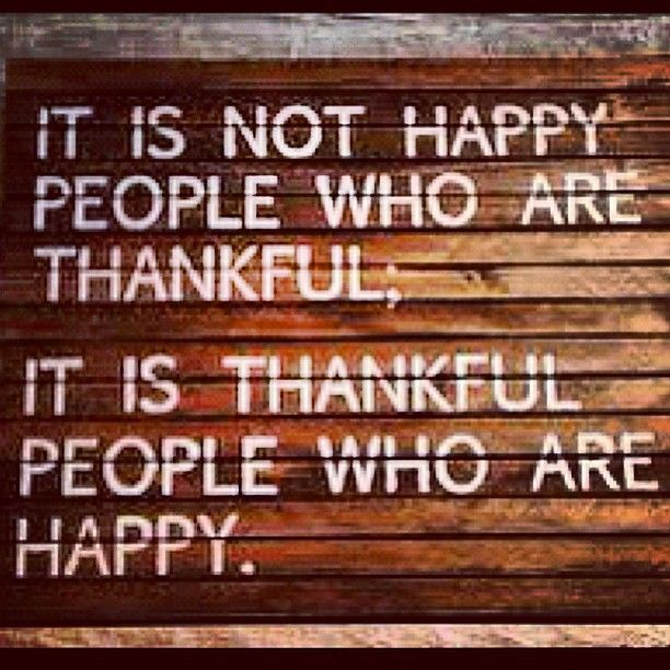Gratitude. #IamGrateful. #ThankfulThursday.