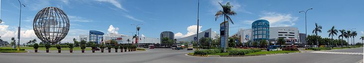 Panoramic view of the SM Mall of Asia in Pasay, Philippines