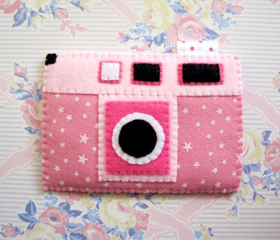 SALE Camera Stary Stars Pink iPhone Mobile Case. $17.00, via Etsy.