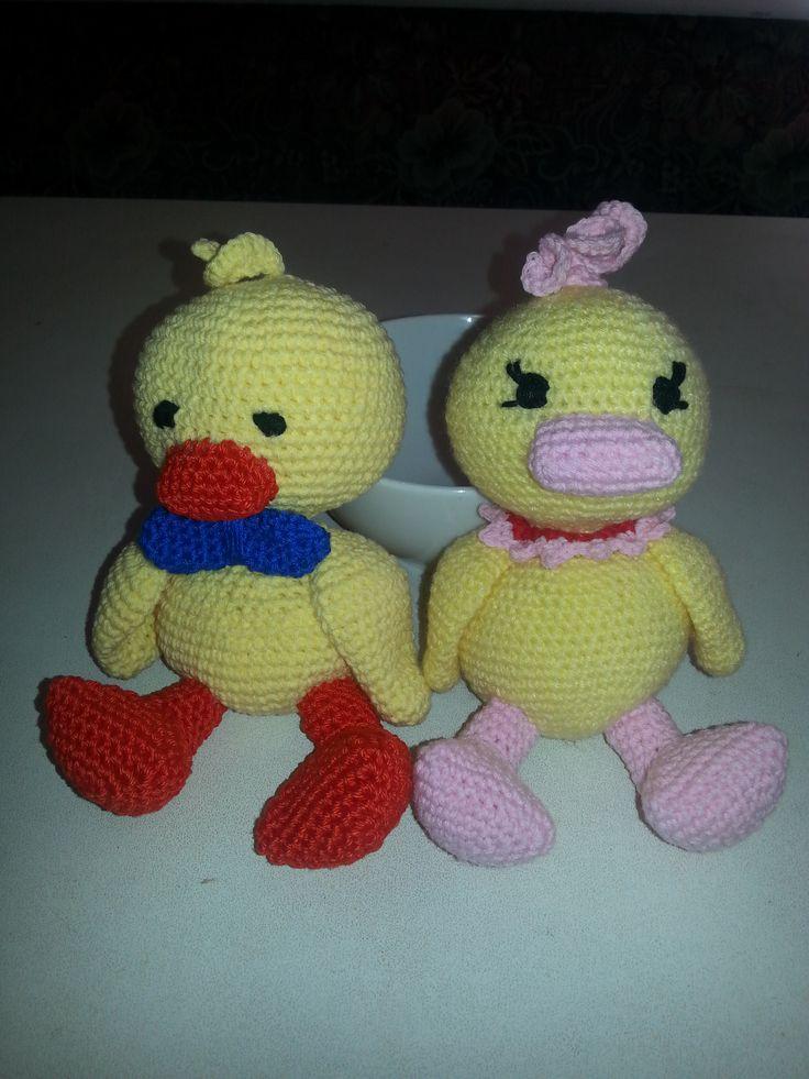 pareja de patitos