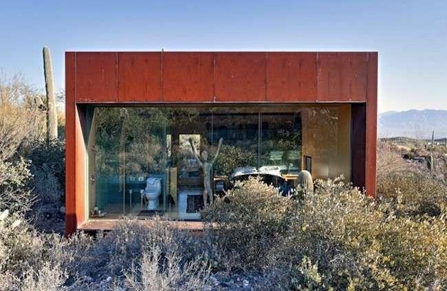 Desert Nomad House - Desert Nomad House, grandi finestre di vetro