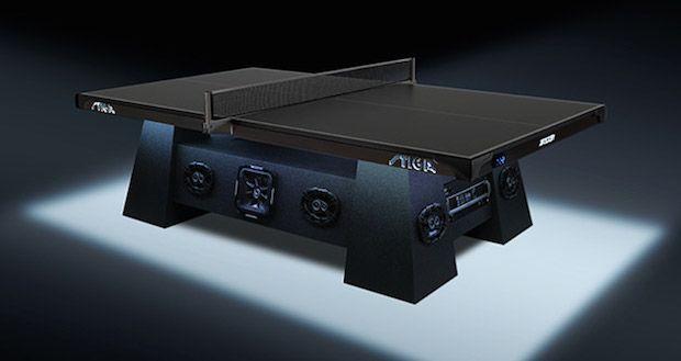 Play On Playa: Stiga Studio Ping Pong Table | First Look http://stupidDOPE.com/?p=341309 #stupidDOPE