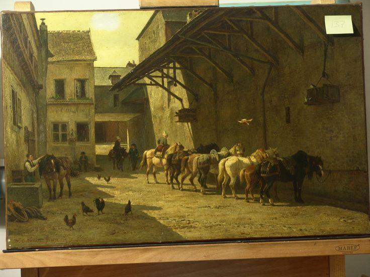 Nakken - 1872 - voor behandeling - Restauratieatelier Haarlem