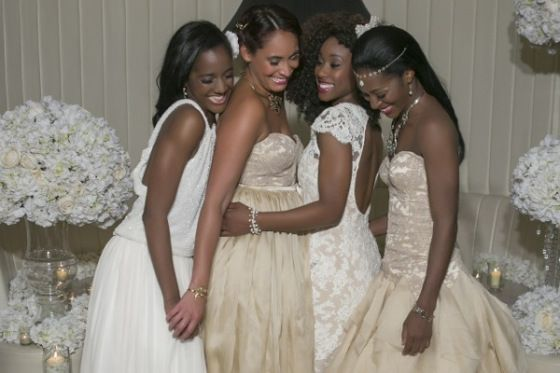 #bridesmaids Grace by Nu Bride -  Nikos Gogas