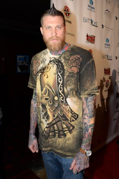 Chris andersen rocking this T