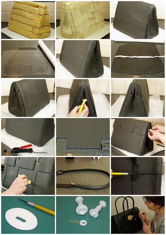 What a fantastic cake. The Handbag – Tutorial http://blog.mycakedecorating.co.uk/the-handbag-tutorial/