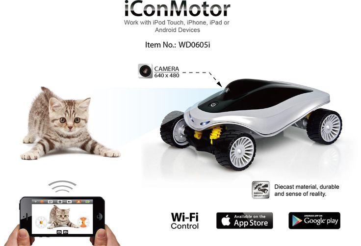 Woddon iConCar-WD0604i Bluetooth Control Remoto. Teledirigido por dispositivos iOS y Android.