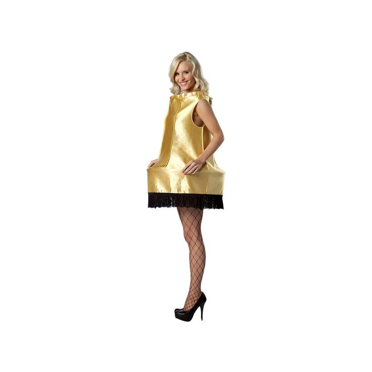 A Christmas Story Leg Lamp Costume - Adult, Women's, Gold