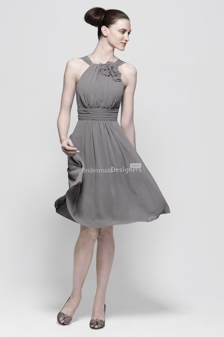 117 best images about weddings silver grey elegance on for Grey wedding guest dress