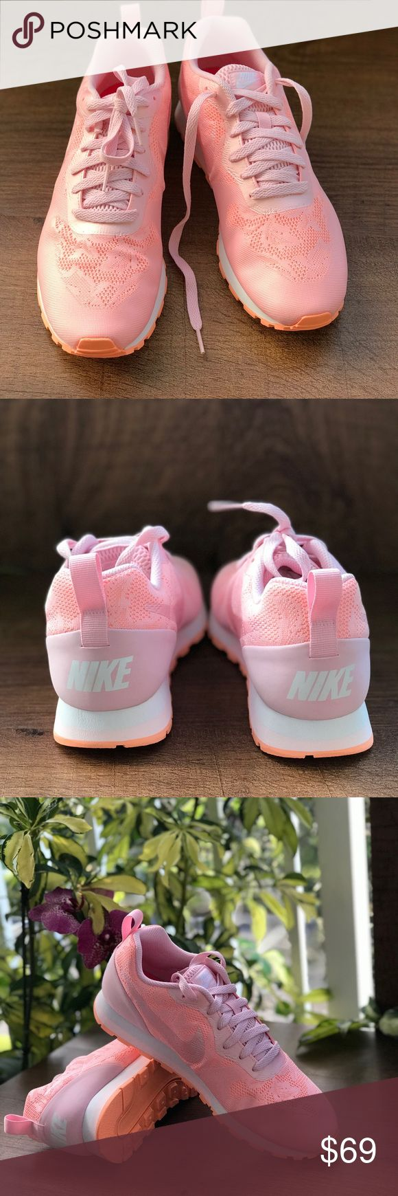 NWT Nike MD Runner 2 BR WMNS Brand new with no lid box. Price is firm! No trades. Nike Shoes Sneakers