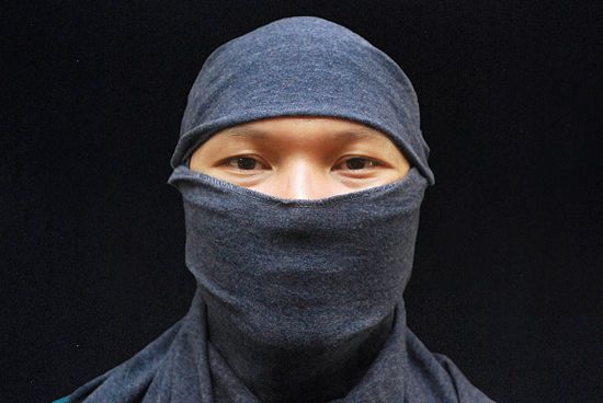 How to Make a Ninja Mask out of a T Shirt: 7 Steps